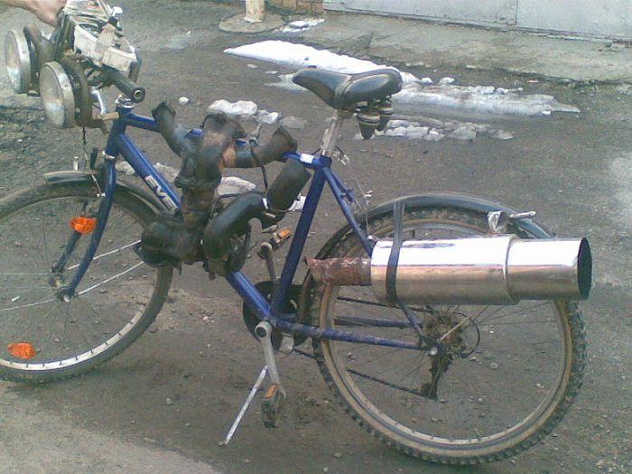 Фото тюнинга велосипеда своими руками